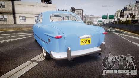 Ford Custom Fordor 1949 v2.1 для GTA 4