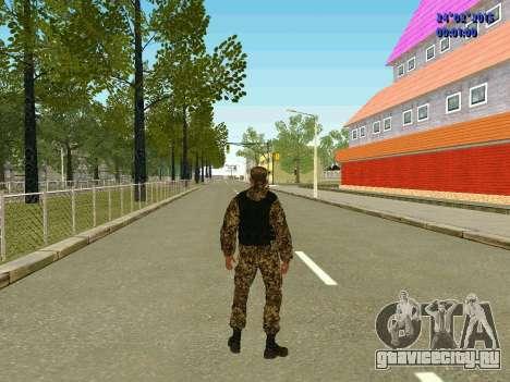 Стрелок ополчения ДНР для GTA San Andreas пятый скриншот