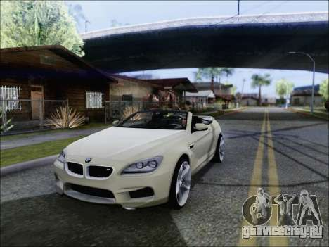 BMW M6 Cabriolet 2012 для GTA San Andreas