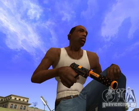 Skins Weapon pack CS:GO для GTA San Andreas