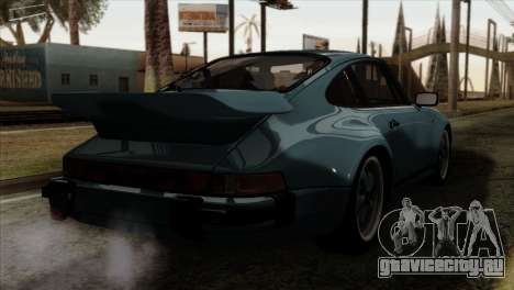 Porsche 911 Turbo 3.3 Coupe 930 1981 для GTA San Andreas вид слева