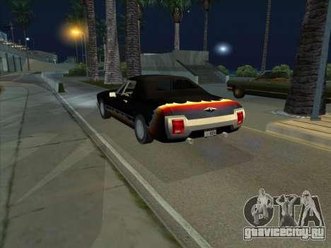Diablo Stallion из GTA 3 для GTA San Andreas вид сзади слева