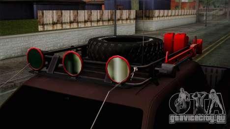 Ford F-250 для GTA San Andreas вид справа
