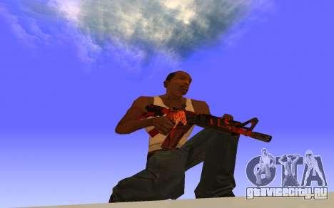 M4A4 Вой CS:GO для GTA San Andreas второй скриншот
