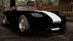 GTA 5 Invetero Coquette v2 IVF для GTA San Andreas