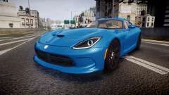 Dodge Viper SRT 2013 rims2 для GTA 4