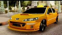 Peugeot 407 Sport Taxi для GTA San Andreas