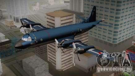 Lockheed P-3 Orion MLD Old для GTA San Andreas