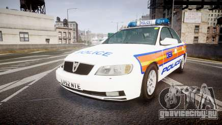 Vauxhall Omega Metropolitan Police [ELS] для GTA 4