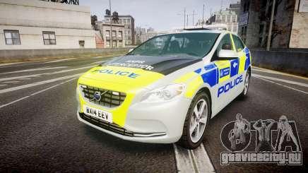 Volvo V40 Metropolitan Police [ELS] для GTA 4