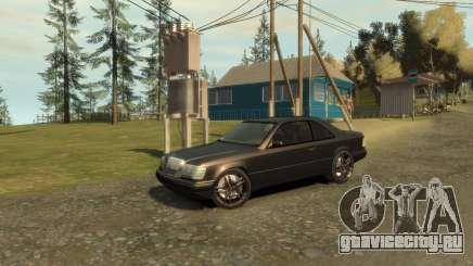 Mercedes-Benz C124 для GTA 4