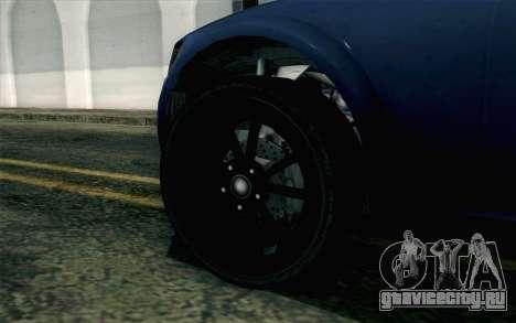GTA 5 Cheval Fugitive HQLM для GTA San Andreas вид сзади слева