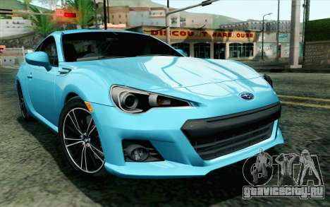 Subaru BRZ 2012 для GTA San Andreas