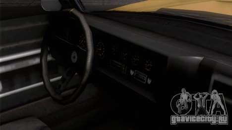 GTA 5 Invetero Coquette Classic HT IVF для GTA San Andreas вид справа
