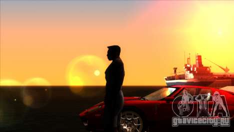 ENBSeries для слабых PC v5 для GTA San Andreas пятый скриншот