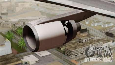 Lookheed L-1011 United Als для GTA San Andreas вид справа
