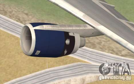 Lookheed L-1011 British Airways для GTA San Andreas вид справа