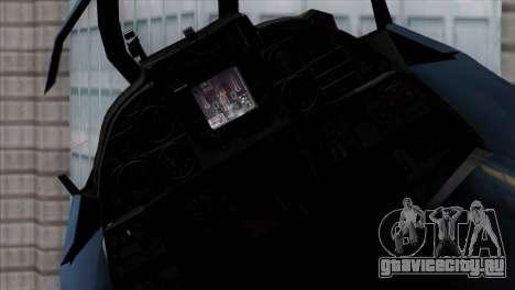 F-14 Japan Air Self Defense Force для GTA San Andreas вид справа