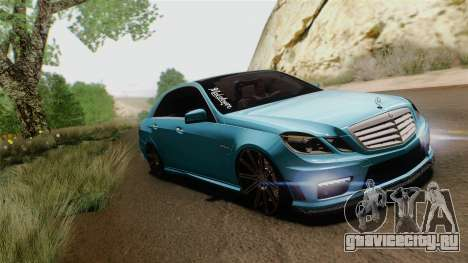 Mercedes-Benz E63 AMG 2010 Vossen wheels для GTA San Andreas