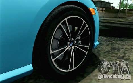 Subaru BRZ 2012 для GTA San Andreas вид сзади слева