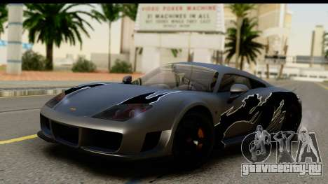 Noble M600 2010 IVF АПП для GTA San Andreas вид сбоку
