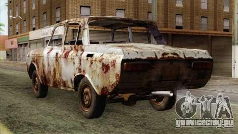 Russian Rustic Moskvitch для GTA San Andreas вид слева