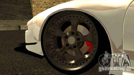 Honda NSX Street Killer для GTA San Andreas вид сзади слева