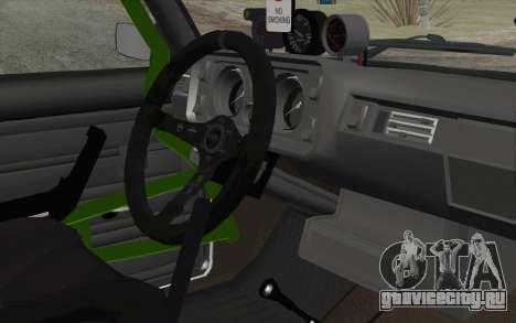 ВАЗ 2105 Дрист-Корч для GTA San Andreas вид справа