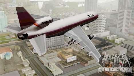 Lookheed L-1011 PSA для GTA San Andreas вид слева