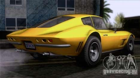 GTA 5 Invetero Coquette Classic HT IVF для GTA San Andreas вид слева