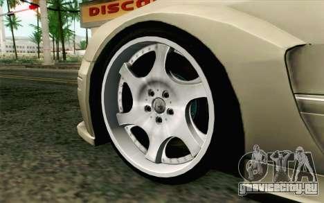 Mercedes-Benz CLK DTM 2004 для GTA San Andreas вид сзади слева