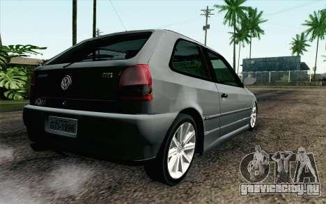 Volkswagen Golf GL для GTA San Andreas вид слева
