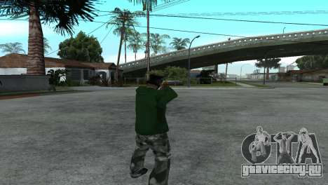 Gold Desert Eagle для GTA San Andreas третий скриншот