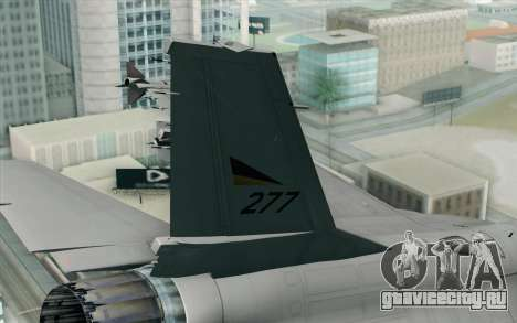 F-16 Fighting Falcon RNoAF PJ для GTA San Andreas вид сзади слева