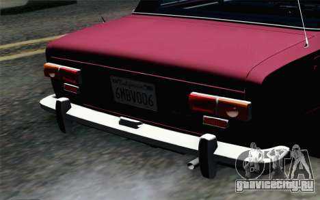 ВАЗ 2101 Lowrider для GTA San Andreas вид сзади