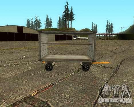 New Bagbox A для GTA San Andreas вид слева