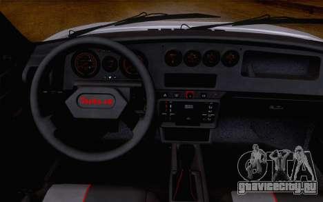 Peugeot 205 Turbo 16 1984 [IVF] для GTA San Andreas вид сзади слева