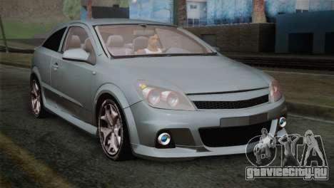 Opel Astra OPC Stock для GTA San Andreas