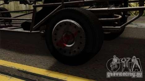 GTA 5 Space Docker для GTA San Andreas вид сзади
