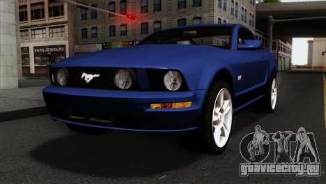 Ford Mustang GT PJ Wheels 1 для GTA San Andreas