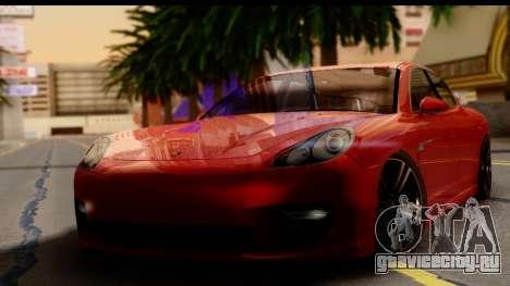 Porsche Panamera Turbo для GTA San Andreas