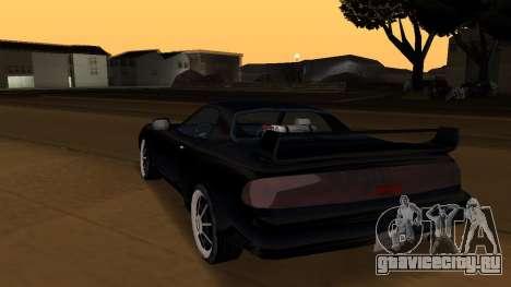 Beta ZR-350 Final для GTA San Andreas салон