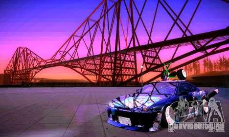ANCG ENB v2 для GTA San Andreas двенадцатый скриншот
