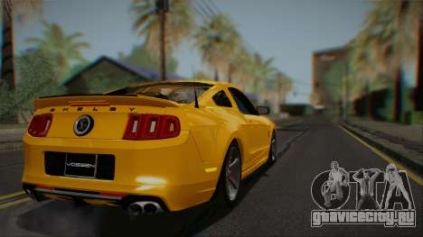 Ford Shelby GT500 2013 Vossen version для GTA San Andreas