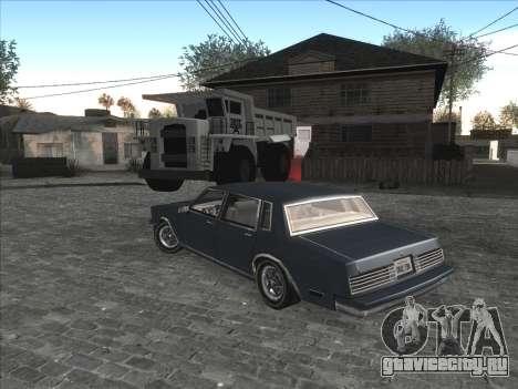 Личная машина CJ на Grove Street для GTA San Andreas четвёртый скриншот