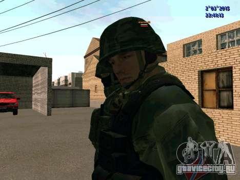 Боец из батальона Восток для GTA San Andreas третий скриншот