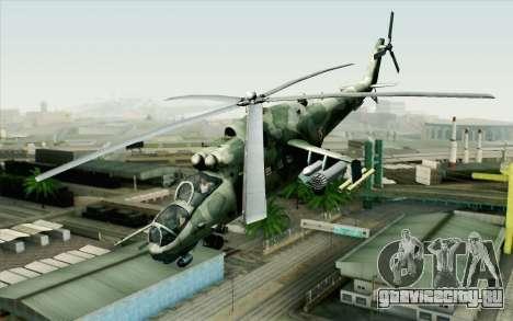 Mi-24D Polish Air Force для GTA San Andreas