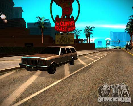 ENB GreenSeries для GTA San Andreas десятый скриншот