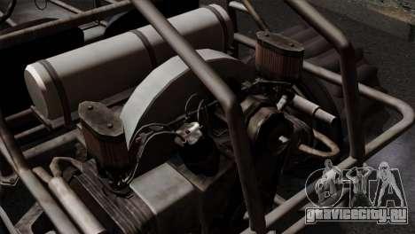 GTA 5 Dune Buggy IVF для GTA San Andreas вид сзади