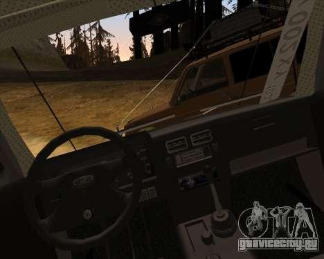 ВАЗ 2131 Нива 5Д OffRoad для GTA San Andreas вид сверху